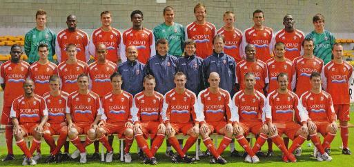 Photo Excelsior Mouscron 2009-2010